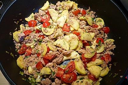 Zucchini - Thunfischpfanne 53
