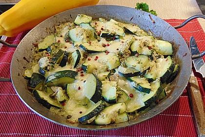 Zucchini - Thunfischpfanne 1