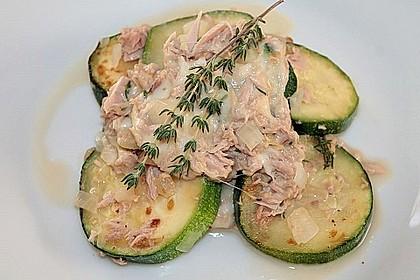 Zucchini - Thunfischpfanne 20
