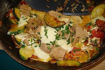Zucchini - Thunfischpfanne 5