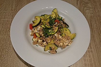 Zucchini - Thunfischpfanne 8