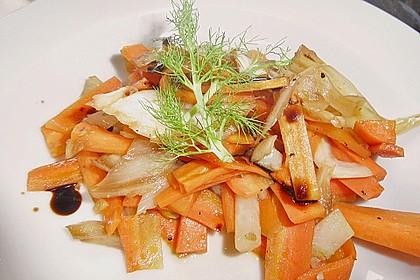Fenchel - Karottengemüse