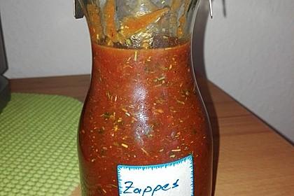 Zappes, eine besondere Grillsauce 11