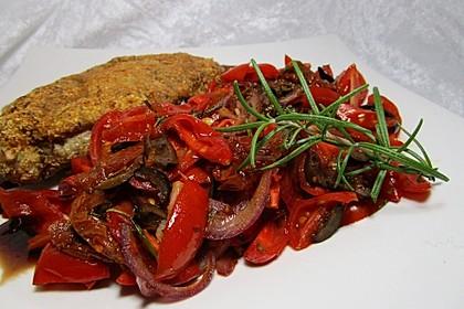 Mediterranes Tomaten - Oliven - Gemüse mit Rosmarin 1