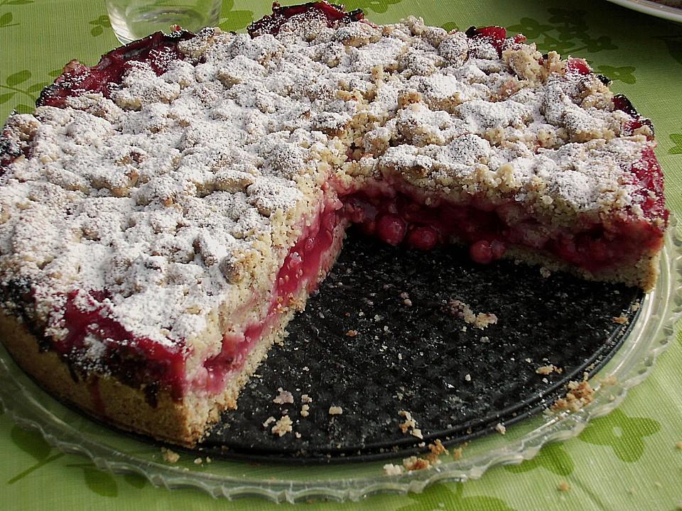 Feiner Johannisbeer Streuselkuchen Von Fakessa Chefkoch De