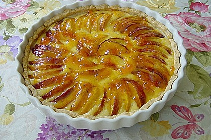 Pfirsich - Tarte