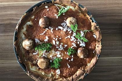 Pfifferlings-Pie mit Hackfleisch 17