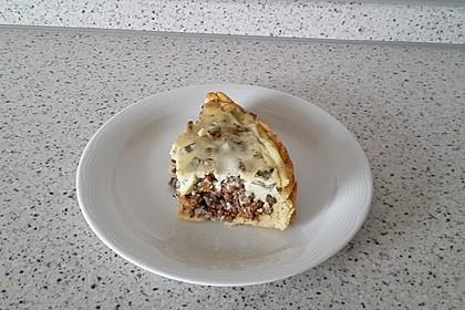 Pfifferlings-Pie mit Hackfleisch 13