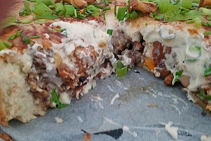 Pfifferlings-Pie mit Hackfleisch 23