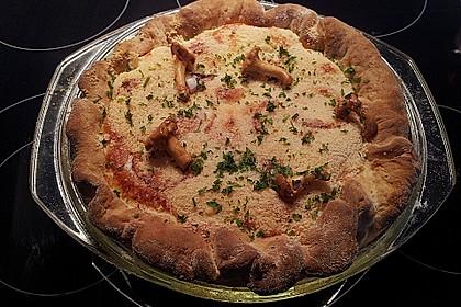 Pfifferlings-Pie mit Hackfleisch 15