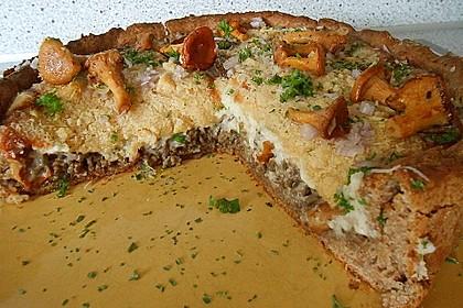 Pfifferlings-Pie mit Hackfleisch 7