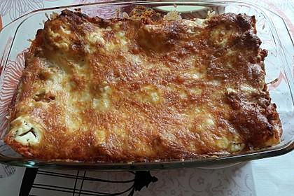 Einfache, schnelle Lasagne 2