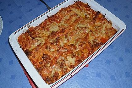 Einfache, schnelle Lasagne 4