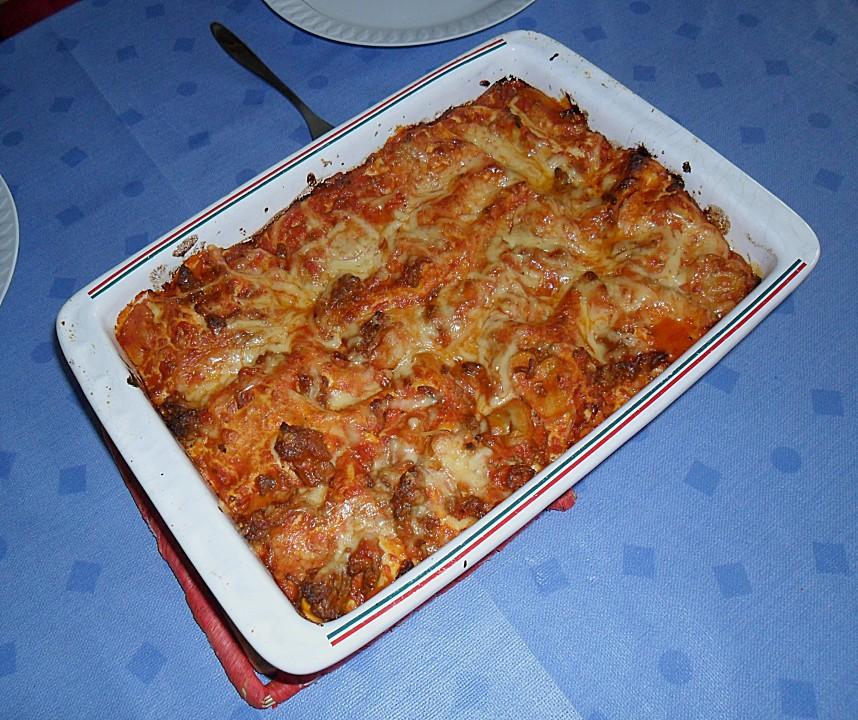 einfache schnelle lasagne von ellaex chefkoch