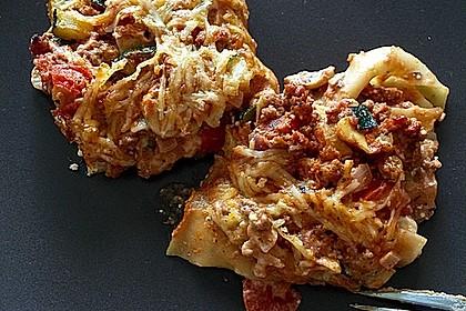 Einfache, schnelle Lasagne 8