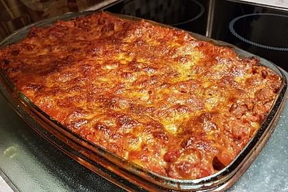 Einfache, schnelle Lasagne 1