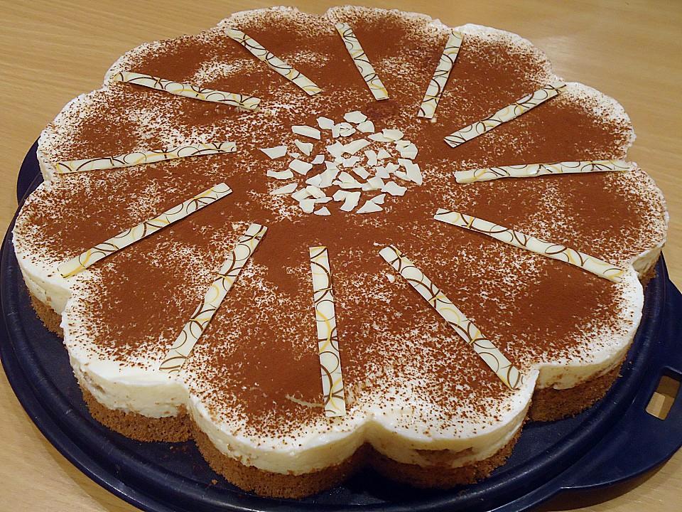 Manus Leichte Tiramisu Torte Von Manugro Chefkoch De