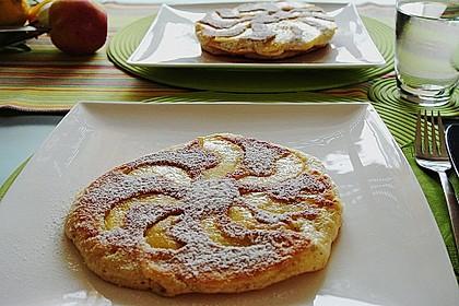 Dicke Obst - Pfannkuchen 1