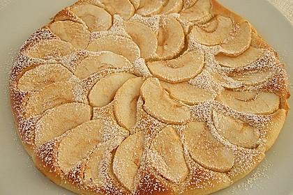 Dicke Obst - Pfannkuchen 4