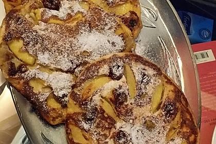 Dicke Obst - Pfannkuchen 24