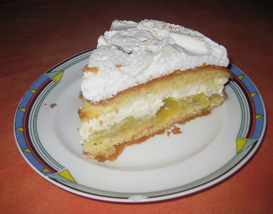 Stachelbeer Baiser Torte Von Romslerin Chefkoch De