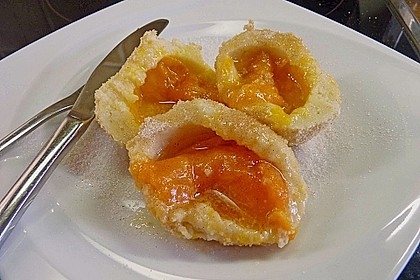 Roros 'auslaufsichere' Anfänger - Aprikosenknödel mit ganzen Früchten - ohne Eier