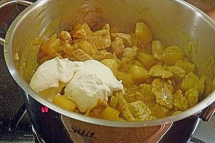 Roros exotisch - sahniger Currytopf mit roten Pfefferbeeren 3