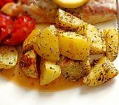 Knusprige Backofenkartoffeln (Bild)