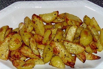 Knusprige Backofenkartoffeln 1