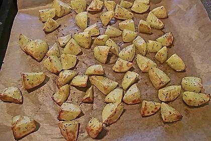 Knusprige Backofenkartoffeln