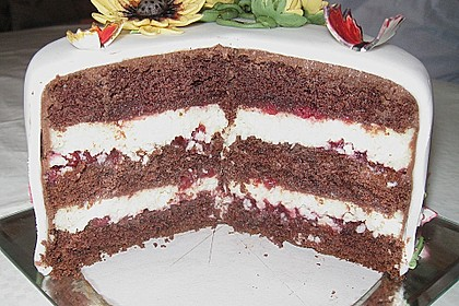 Fruchtige Schoko - Kokos - Torte 9