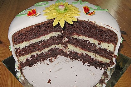 Fruchtige Schoko - Kokos - Torte 6