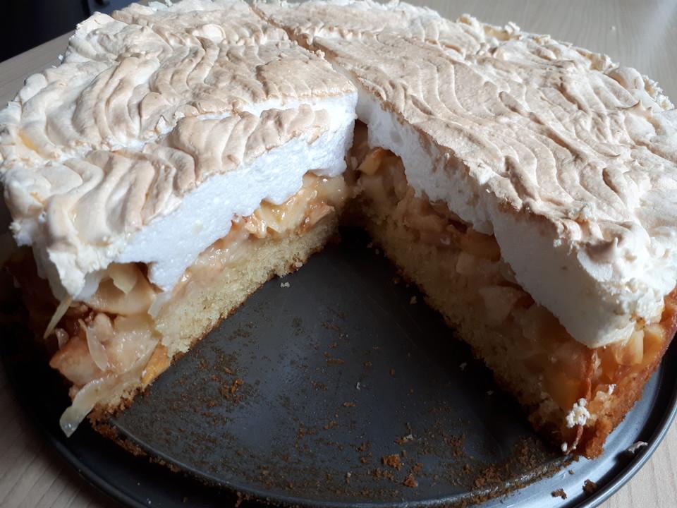 Apfel Zimt Kuchen Mit Baiser Von Bowlefee Chefkoch De