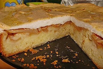 Apfel - Zimt - Kuchen mit Baiser 2