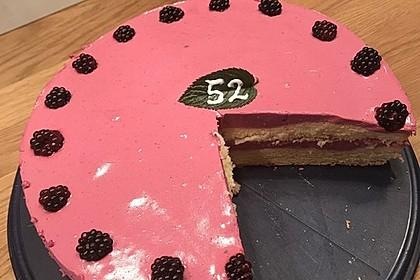 Brombeer - Quark - Torte 25