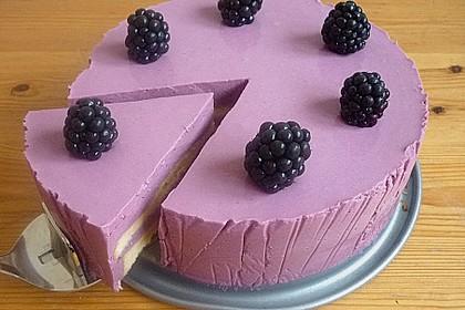 Brombeer - Quark - Torte