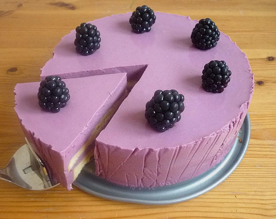 Brombeer torte ohne backen