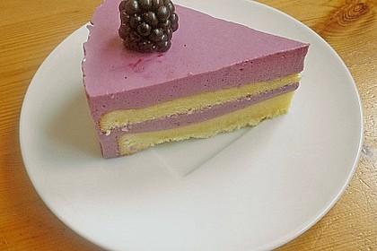 Brombeer - Quark - Torte 10