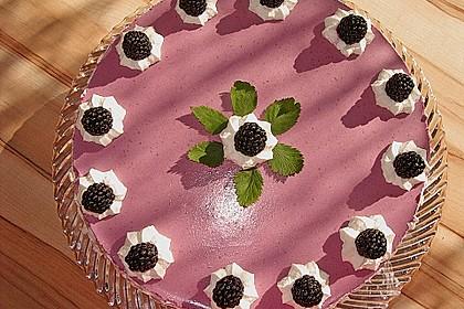 Brombeer - Quark - Torte 1