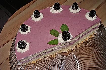 Brombeer - Quark - Torte 9
