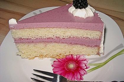 Brombeer - Quark - Torte 6