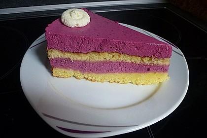 Brombeer - Quark - Torte 11