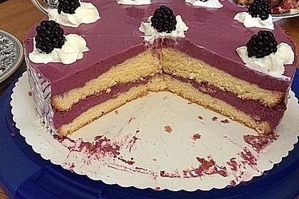 Brombeer - Quark - Torte 8