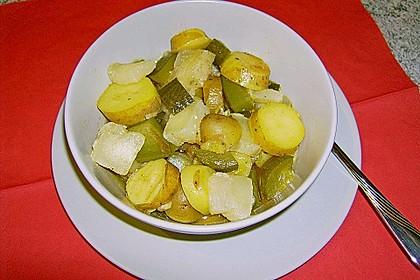 Harzer Käse - Kartoffel - Salat (Bild)