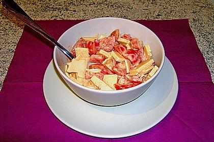 Dänischer Käse - Tomaten - Salat (Bild)