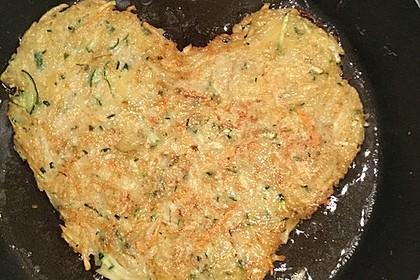 Kartoffel - Zucchini - Taler (Bild)