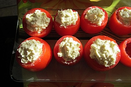 Gefüllte Tomaten mit Schafskäse - Creme 19