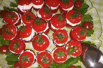 Gefüllte Tomaten mit Schafskäse - Creme 23