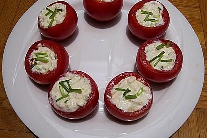 Gefüllte Tomaten mit Schafskäse - Creme 20