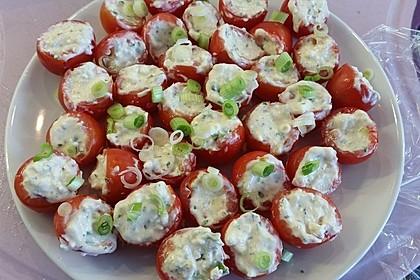 Gefüllte Tomaten mit Schafskäse - Creme 15